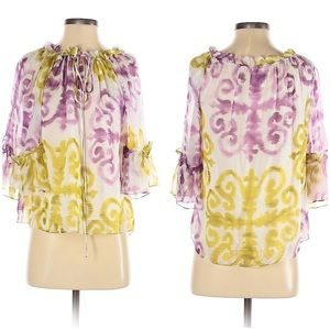 Milly 100% Silk Blouse